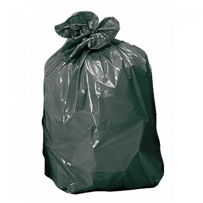 Sacs poubelles 100 litres, 40 microns (x25) BRICOZOR