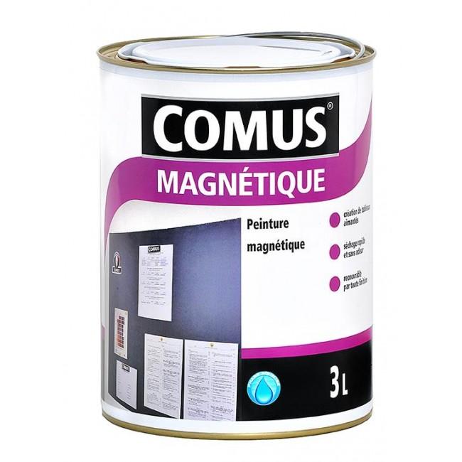Peinture magnétique gris COMUS