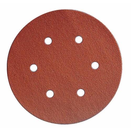 Abrasifs disques papier anti-encrassant perforés 6 trous KP 131