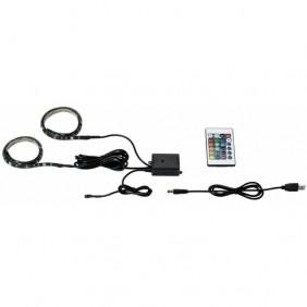 Bandeau lumineux pour rétro éclairage - LED - USB - Stripe PAULMANN