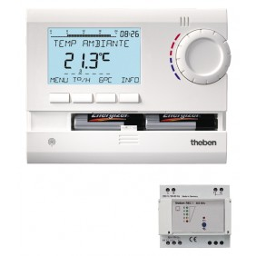 Thermostat programmable à commande radio - Ramses 833 Top2 HF THEBEN