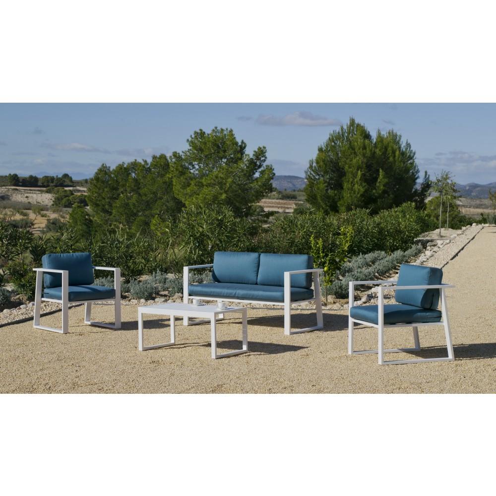 Salon de Jardin en aluminium - Ayleen INDOOR OUTDOOR | Bricozor