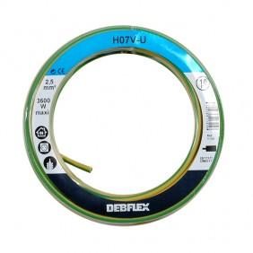 Fil rigide HO7V-U - 2,5 mm² DEBFLEX