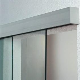Garniture Porta 100 verre pour vantail de 100 kg - Porta 100 verre type G EKU