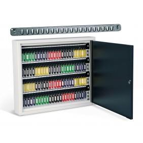 Armoire à clés - grande capacité - en acier - crochets amovibles RENZ