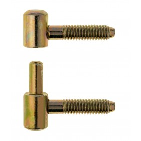 Fiches pour meuble en bois - nœud plat court - Ø 9 mm OTLAV