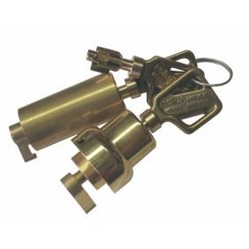 Jeu de cylindres à doubles pompes pour serrure à clé 5 ailettes POLLUX