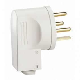 Fiche électrique 20A 2P+T avec serre-câbles - 055152 LEGRAND
