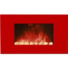 Cheminée décorative & design - Red Line Color Style - 2000 W CHEMIN' ARTE