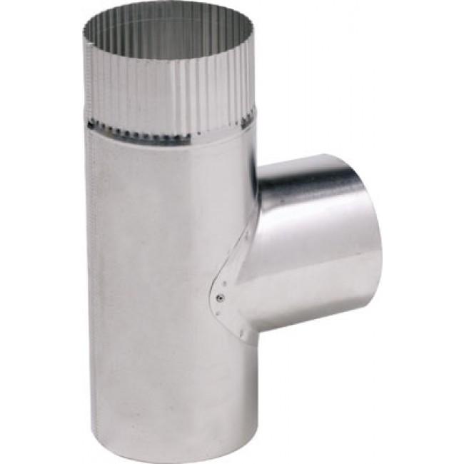 Té en aluminium rigide - évacuation et ventillation TEN