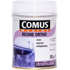 Résine polyester orthophtalique - incolore - bi-composant en gel COMUS