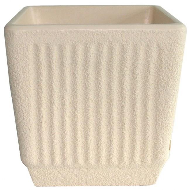 Bac carré avec réserve d'eau beige - 57 litres - Sequoia 13775
