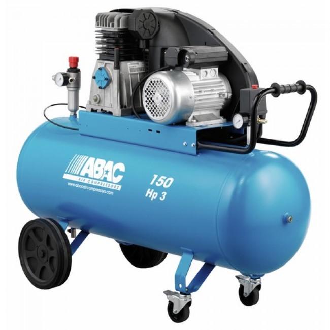 Compresseur d'air à piston 150 litres 3CV - PRO A 39B 150 CM3 ABAC