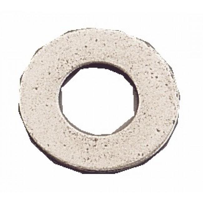 Rondelles plates Mu - acier brut BRICOZOR