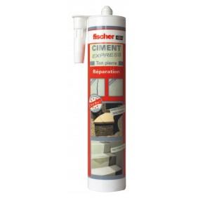 Ciment Express gris - Cartouche 310 ml FISCHER
