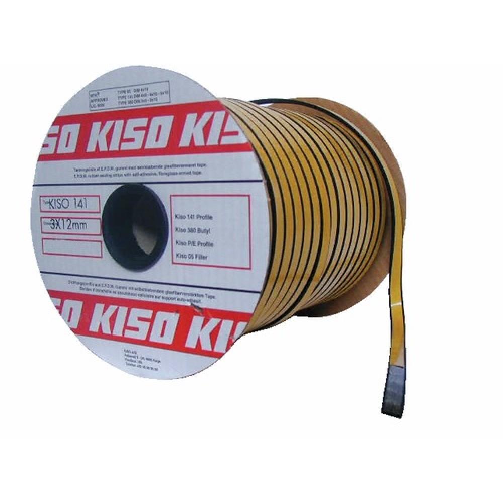 Joints De Vitrage Kiso 141 Epdm 4 Mm Kiso Bricozor
