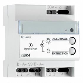 Télécommande pour éclairage de sécurité URA URA