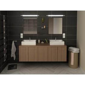 Meuble de salle de bain 150cm - Juliana - deux finitions BAIN ROOM