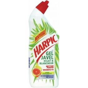 Nettoyant sanitaire Gel javel éclat et blancheur HARPIC
