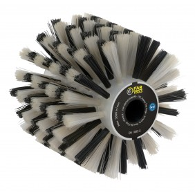 Brosse fibre plastique - nettoyage de toutes surfaces - 120x100 mm FARTOOLS
