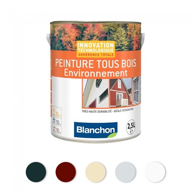 Peinture microporeuse - hydrofuge - Tous Bois Environnement BLANCHON