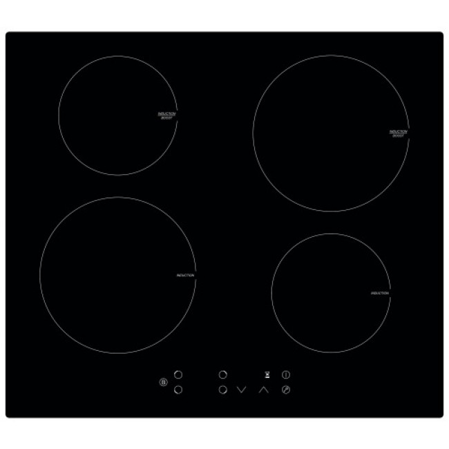 Table de cuisson - induction - inox - 4 feux - TI4B7000 FRANKE