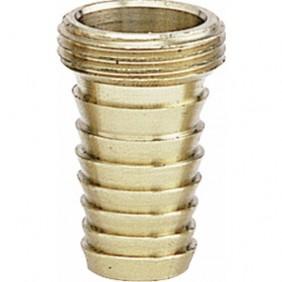 Douille cylindrique filetée - laiton ANQUIER