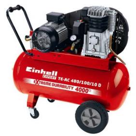 Compresseur - puissance moteur 3000 W - TE-AC 480/100/10 D EINHELL