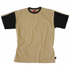 Tee-shirt Work Attitude beige et noir LAFONT