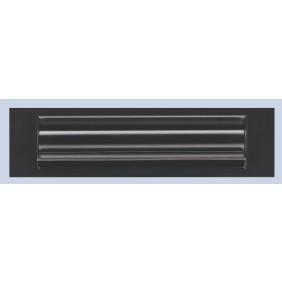 Entrée de courrier isolante pour porte bois/alu/PVC, alu noir GOETTGENS SA
