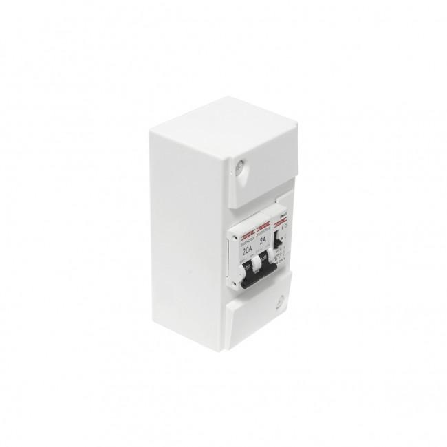Coffret chauffe-eau + contacteur jour/nuit - 230V 20A DEBFLEX