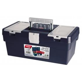 Boite à outils avec couvercle à compartiments - 356 x 192 x 150 mm TAYG