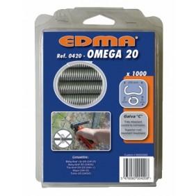 Agrafes pour la pose de grillage - Omega 20 EDMA