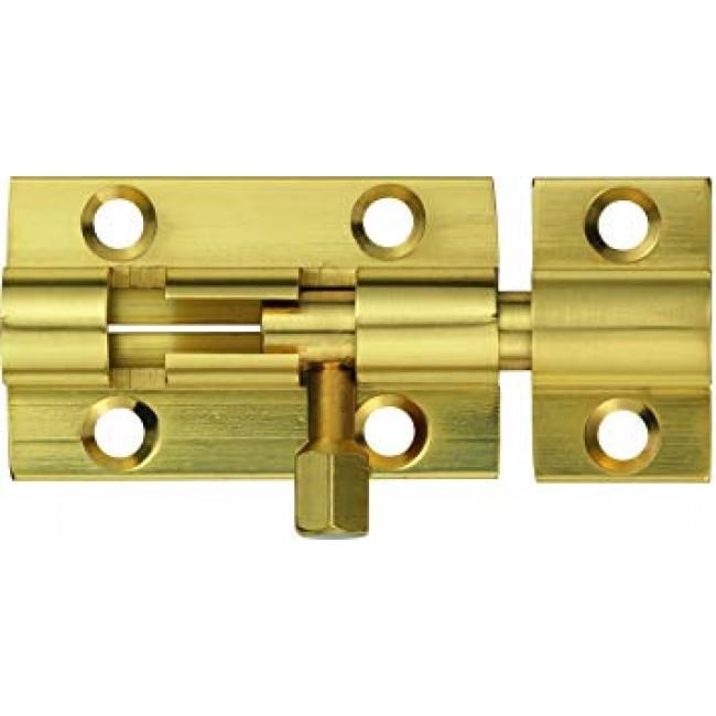 Targette coulissante à pêne rond en laiton et acier - SR ABUS