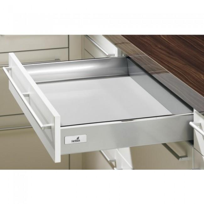 Kit tiroir simple InnoTech-hauteur 70 mm-argent