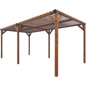 Pergola en bois - 268 x 505 - hauteur 219 cm - Paloma JARDIPOLYS
