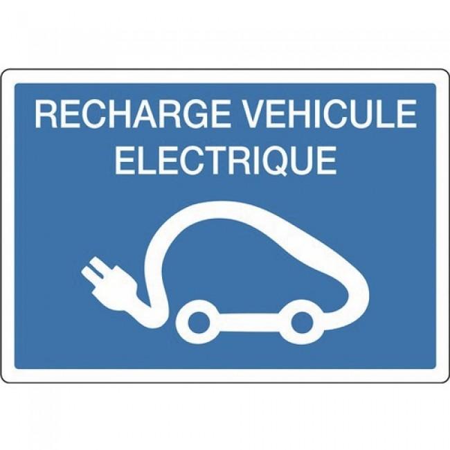 Panneau d'indication - recharge électrique pour véhicule - rigide NOVAP