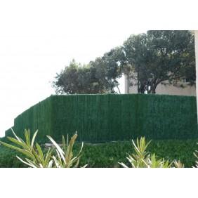 Haie artificielle brise vue - 126 brins - vert thuyas - Supra JET7GARDEN