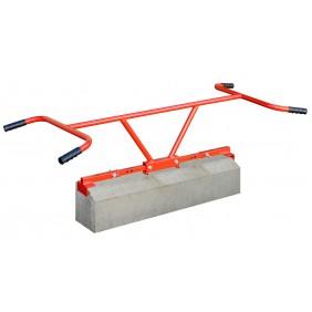 Lève bordure - avec prise longitudinal - capacité de serrage 1000 mm OUTIFRANCE