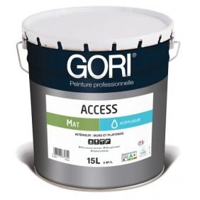 Peinture acrylique mat - murs et plafonds - 15 L - Goriaccess Mat Gori