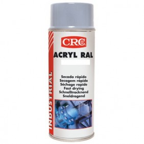 Vernis acrylique brillant incolore - aérosol 520 ml CRC