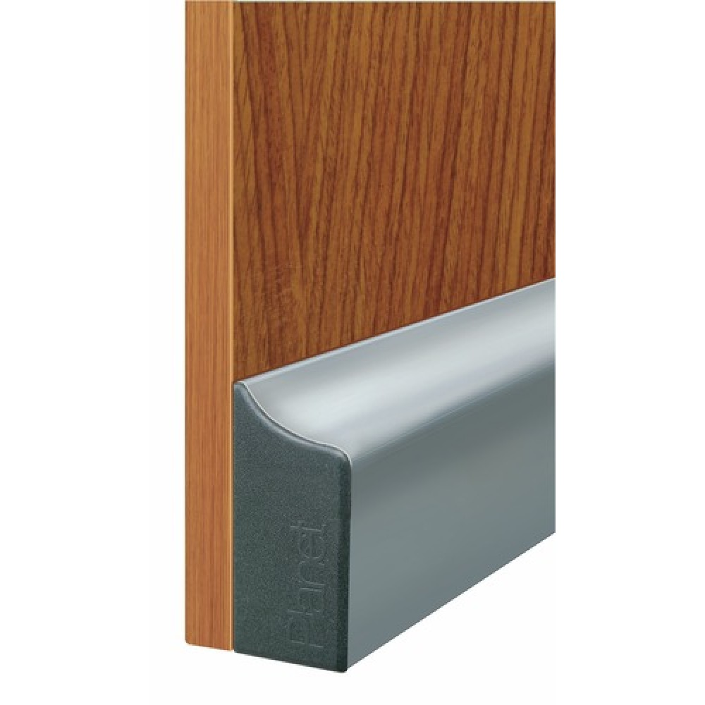 plinthe automatique pour porte en verre ou bois type kgs swiss planet bricozor. Black Bedroom Furniture Sets. Home Design Ideas