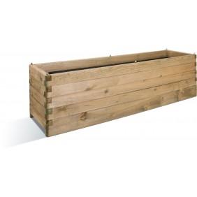 Jardinière en bois - 50 x 180 cm - 252 litres - Oléa 180 JARDIPOLYS