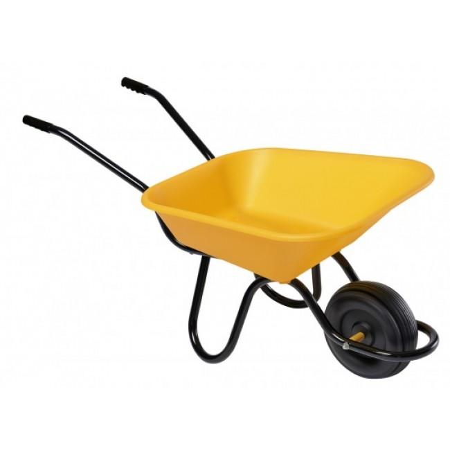 Brouette enfant jaune - 1 roue - MINI HAEMMERLIN