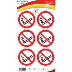 Disque d'interdiction adhésif NOVAP