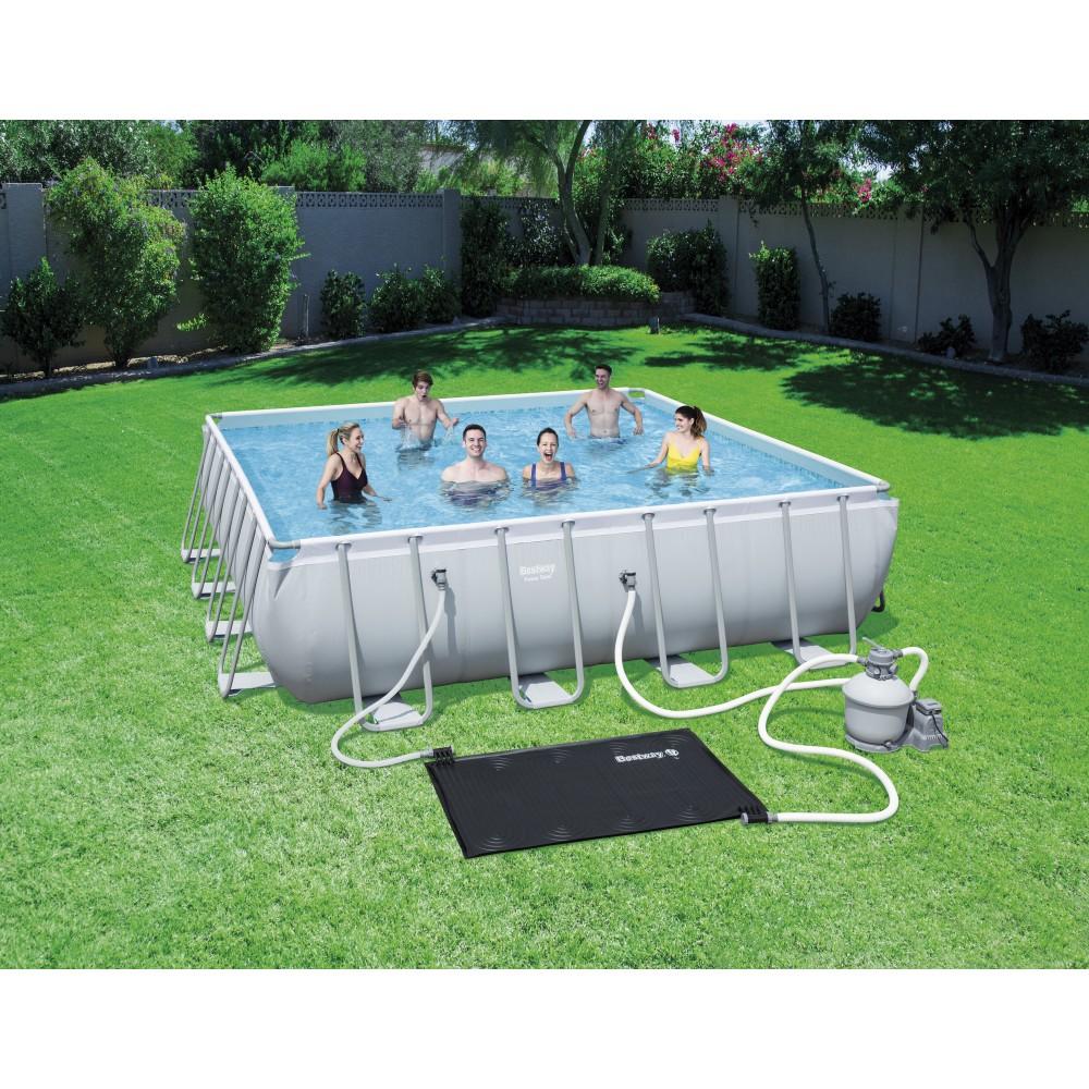 r chauffeur solaire pour piscine 171x110cm bestway bricozor. Black Bedroom Furniture Sets. Home Design Ideas