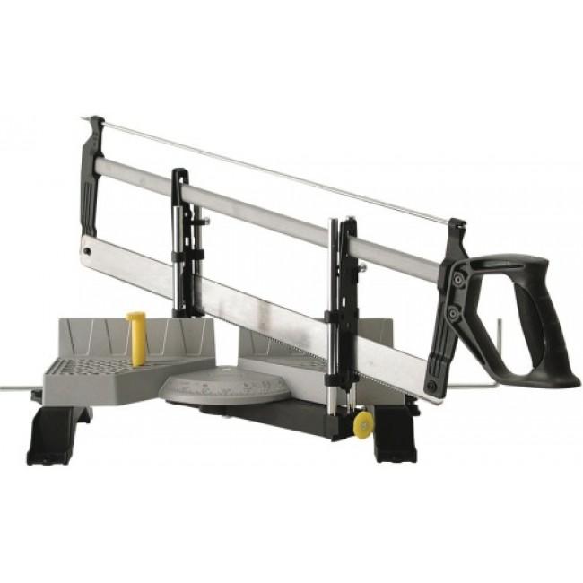 Scie à onglet manuelle articulée - Dimension de la lame 560 x 40 mm STANLEY