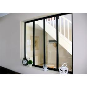 Kit verrière intérieure avec vitrage - 4 panneaux Kit Atelier
