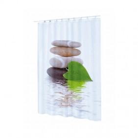 Rideau Douche - Polyester 180X200 cm - Lingga SPIRELLA