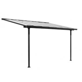 Toiture terrasse - gris aluminium - Couv'Terrasse HABRITA
